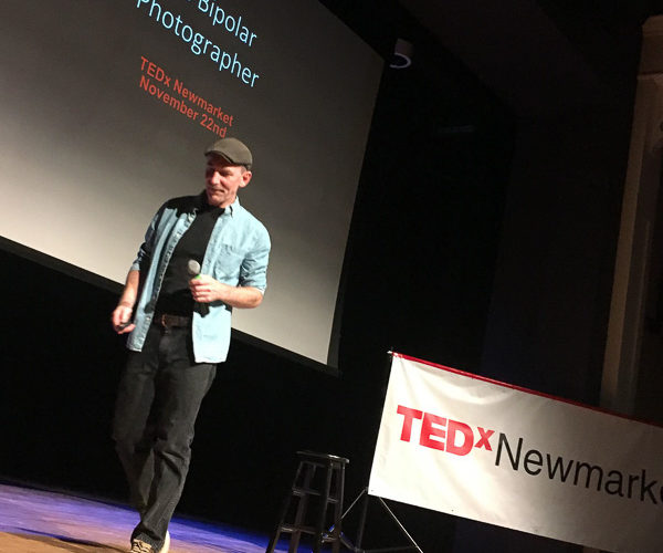 TEDx Talk by Ron Clifford. Image by by Maria Ciarlandini