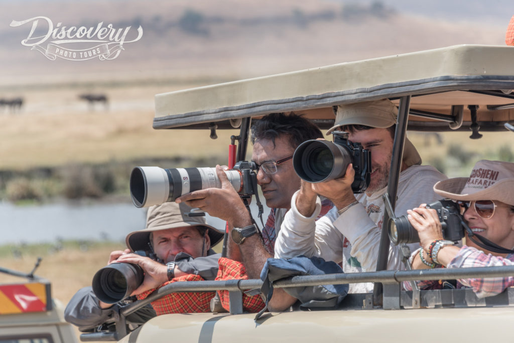 A small group VIP Safari experience with Ron Cliffodr
