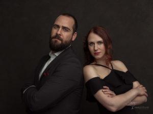 Elegant Couple Omar and Ashleigh