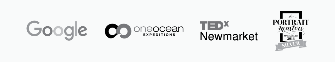 One Ocean Expeditions, The Portrait Masters, Tedx, Google